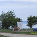 Poreč-Funtana, građevinsko 1000 m2, 80 m. od mora