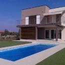 Istra, samostojeća niskoenergetska vila sa bazenom i pogledom na Brione!