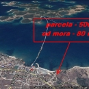 Fažana građevinska parcela 80 metara od mora !!