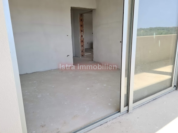 Medulin apartman 45 m2 u izgradnji