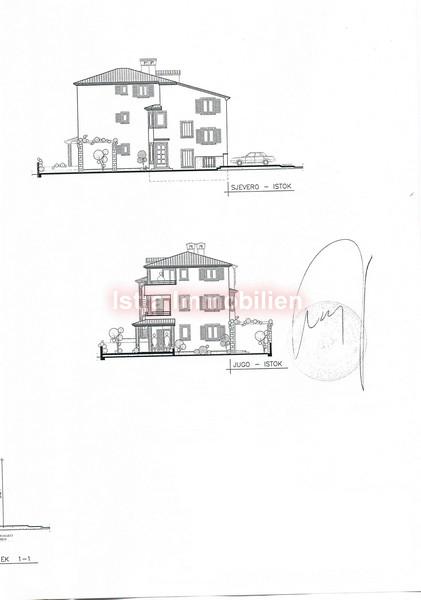 Peroj-građevinsko zemljište + započeta gradnja