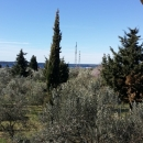 Fažana, samostojeća kuća roh-bau sa pogledom na Brione!