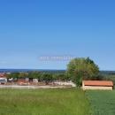 Pula, Galižana- građevinsko zemljište sa započetom gradnjom- pogled na more