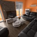 Novi extra uređen stan sa plijepim pogledom na Pulu
