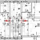 Stan u Puli , novi stan 55  m2 , 1 kat