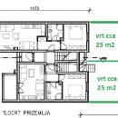 Pula - prizemlje -novi stan 47 m2 + 25 m2 vrta