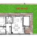 Štinjan, apartman 55 m2 + 85 m2 vrta + šupa + parkirno mjesto