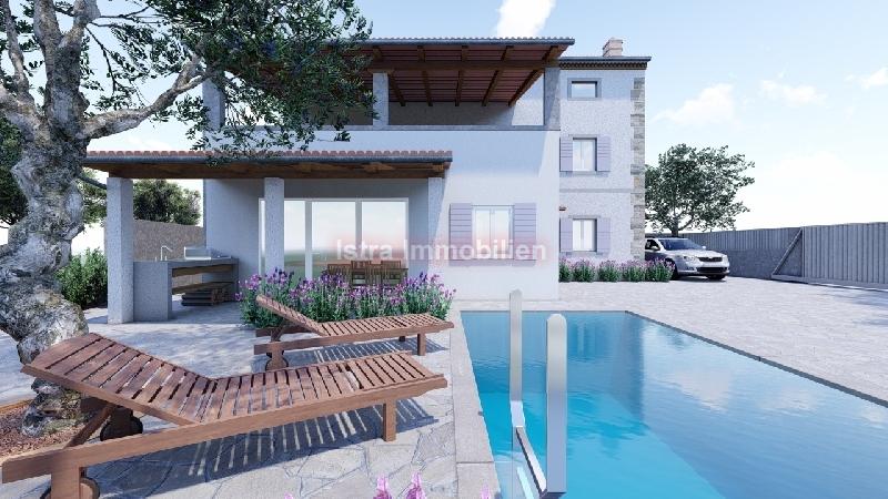 kuća prodaja  Vodnjan Galižana, samostojeća moderna kuća